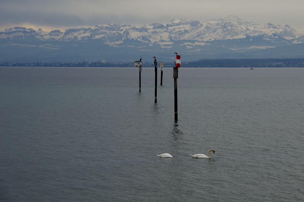 The view from Lake Constance