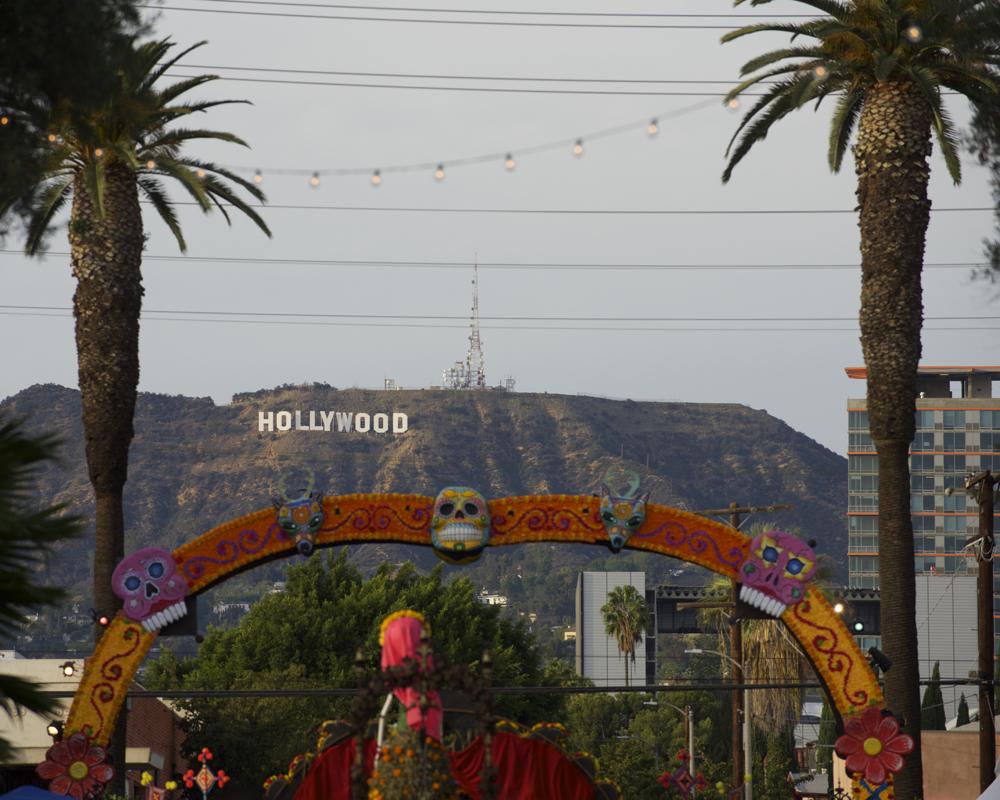 dia de los muertes Hollywood 2015